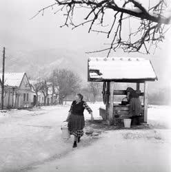 Életkép - Téli képek Dömösről