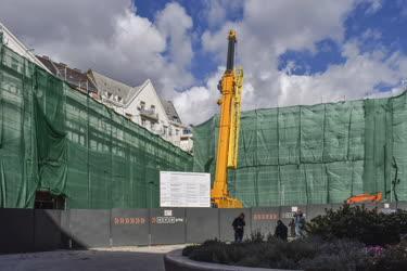 Városkép - Budapest - Irodaház bontása