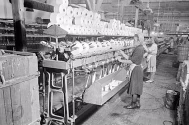 Ipar - A soroksári textilgyárban