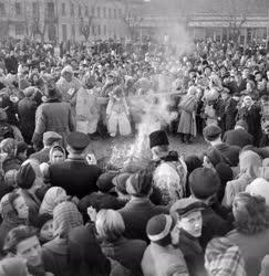 Kultúra - A farsang temetése Mohácson