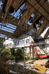 Ipartörténet - Budapest - Csepeli gyárépület