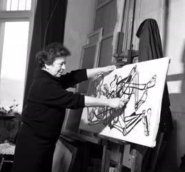 Szántó Piroska  Kossuth-díjas festő