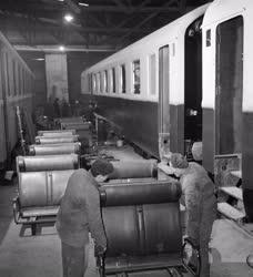 Járműipar - Felszabadulási műszak a Ganz Gépgyárban