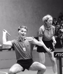 Sport - Asztalitenisz - Jónyer István - Magos Judit