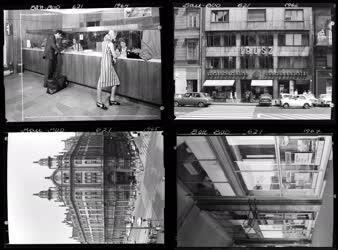Városkép - Életkép - Kereskedelem -  Ibusz épületek
