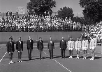 Sport - Tenisz - Magyar-svéd Davis-kupa teniszviadal