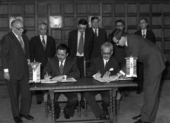 Magyar-jordán egészségügyi egyezményt írtak alá Budapesten