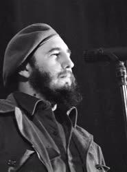 Belpolitika - Nagygyűlés - Fidel Castro beszéde