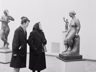 Kultúra - Mikus Sándor szobrász kiállítása