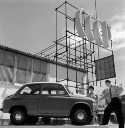 Kiállítás - Nyitás előtt a Budapesti Ipari Vásár