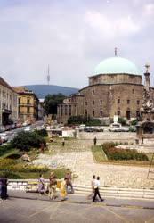 Pécs belvárosa