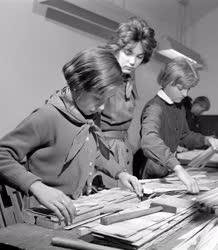 Oktatás - Az Erdőalja úti általános iskola ipari szövetkezete