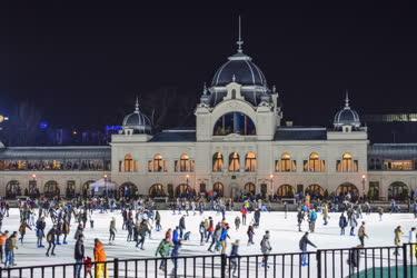 Városkép - Budapest - Műjégpálya