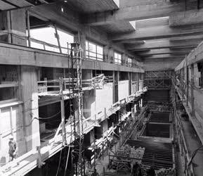 Ipar - Építőipar - Épül a kiskörei vízi erőmű