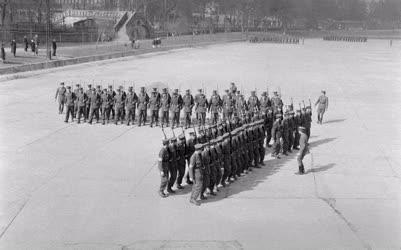 Fegyveres erők - Felkészülés az április 4-i díszszemlére
