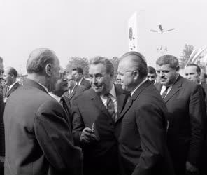 Külkapcsolat - Brezsnyev és Kádár a Vadászati Világkiállításon