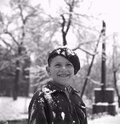 Időjárás - Első hó Budapesten