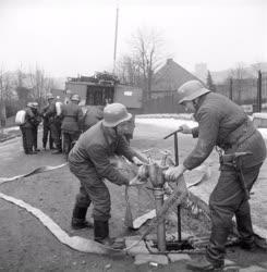 Katasztrófavédelem - Tűzoltó gyakorlat