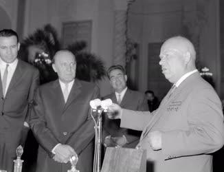 Külkapcsolat - Magyar párt- és kormánydelegáció a Szovjetunióban