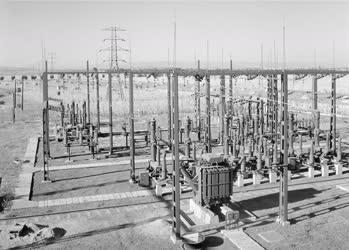 Ipar - Energiaipar - A füzesabonyi transzformátorállomás