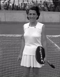 Sport - Tenisz - Körmöczy Zsuzsa
