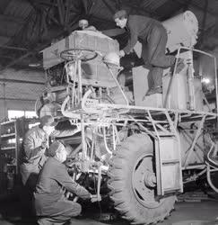 Gépgyártás - Kombájngyártás az EMAG-ban