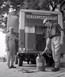 Energia - Mozgó benzinkút