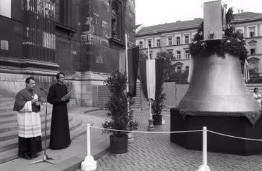 Egyház - Megérkezett a Szent István harang