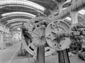 Gépgyártás - Gépóriások a Diósgyőri Gépgyár