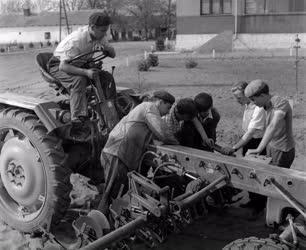 Oktatás - Mezőgazdasági Technikum