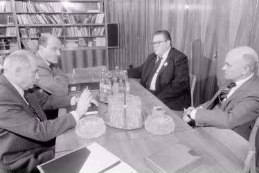 Belpolitika - MSZMP-MDF találkozó
