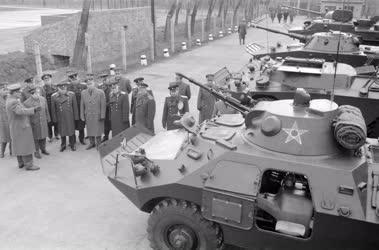 Külkapcsolat - Bolgár katonai küldöttség Pécsett
