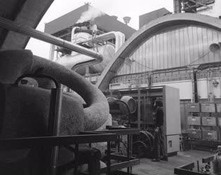 Ipar - Az épülő Tiszai Hőerőmű