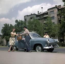 Közlekedés - Reklám - Fővárosi Autótaxi Vállalat