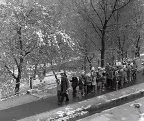 Időjárás - Tél a fővárosban