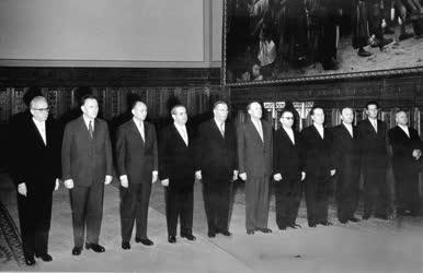 Belpolitika - Az új Kádár-kormány kinevezése