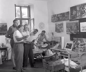 Művészet - Vörösberényi művésztelep