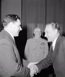 Külkapcsolat - Kádár János és Andrej Gromiko találkozója
