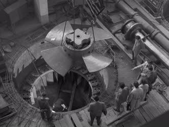 Építőipar - Energia - Épül a Kvassay-vízerőmű