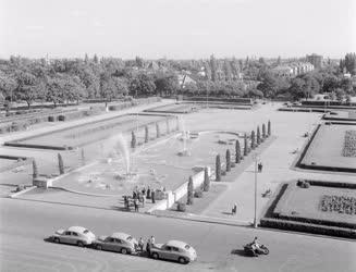 Városkép-életkép - Debreceni park