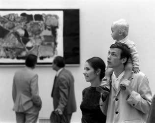 Kultúra - Látogatók Gádor István kiállításán