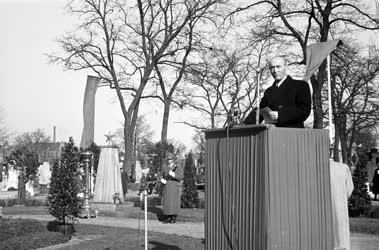 Ünnep - 1919-es mártírok sírjainak koszorúzása
