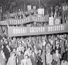 Belpolitika - A nagygyűlés résztvevői
