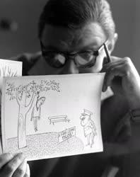 Várnai György Munkácsy- és Balázs Béla-díjas karikaturista