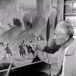 Festészet - Molnár C. Pál festőművész