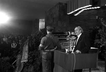 Temetés - Lukács György filozófus temetése