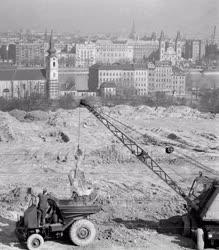 Városkép - Budapest - Építkezés - Gellérthegy - Naphegy