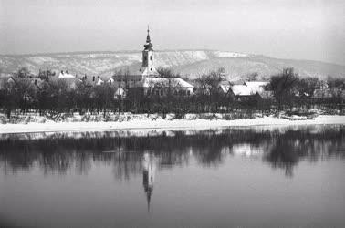 Táj - Kisoroszi téli táj