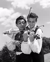 Népzene - A Budapesti Táncegyüttes zenekara