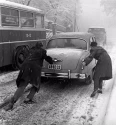 Időjárás - Közlekedés - Téli közlekedés